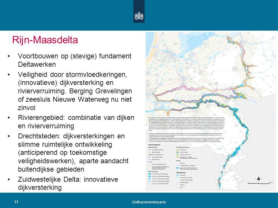 Rijn-Maasdelta Voortbouwen op (stevige) fundament Deltawerken