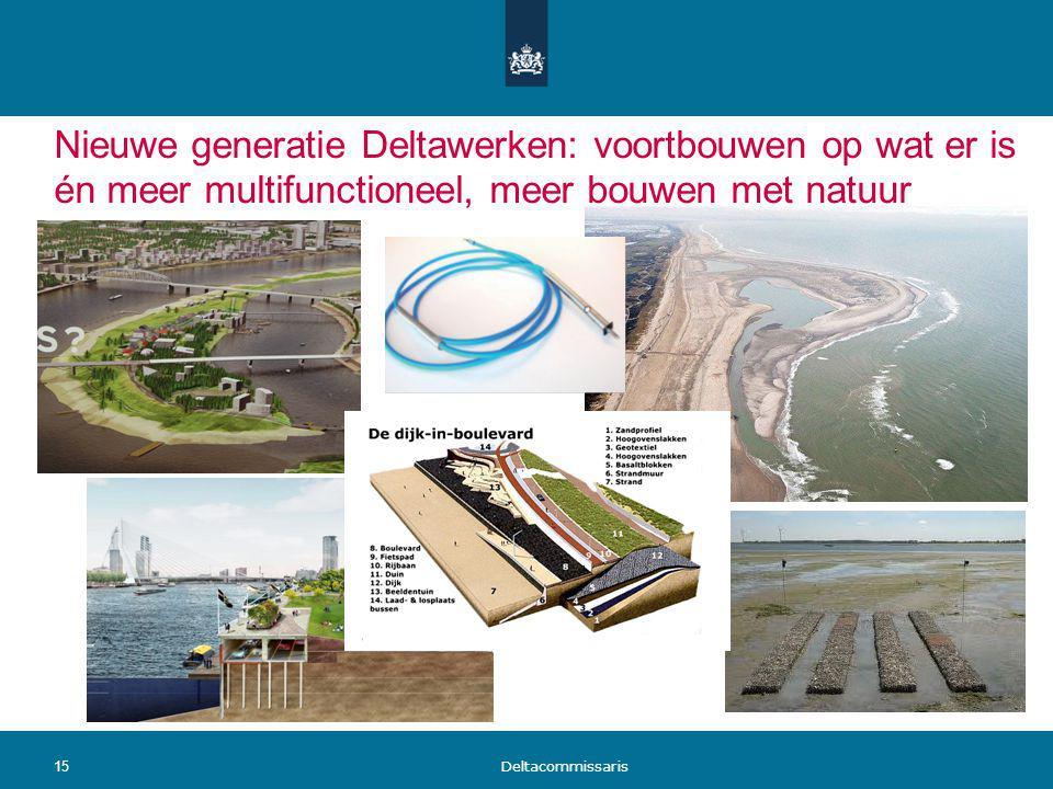 Nieuwe generatie Deltawerken: voortbouwen op wat er is én meer multifunctioneel, meer bouwen met natuur