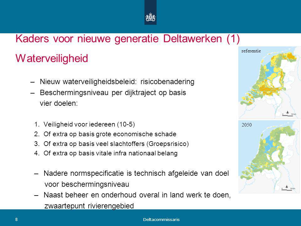 Kaders voor nieuwe generatie Deltawerken (1)