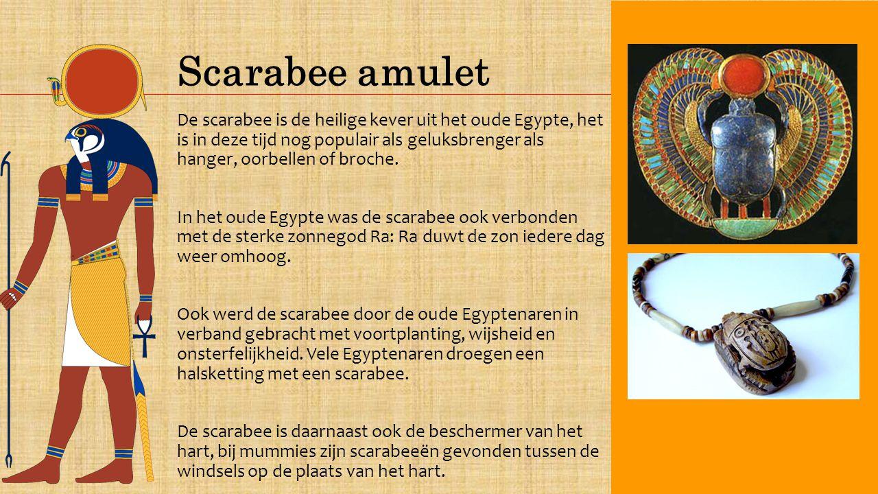 Scarabee amulet