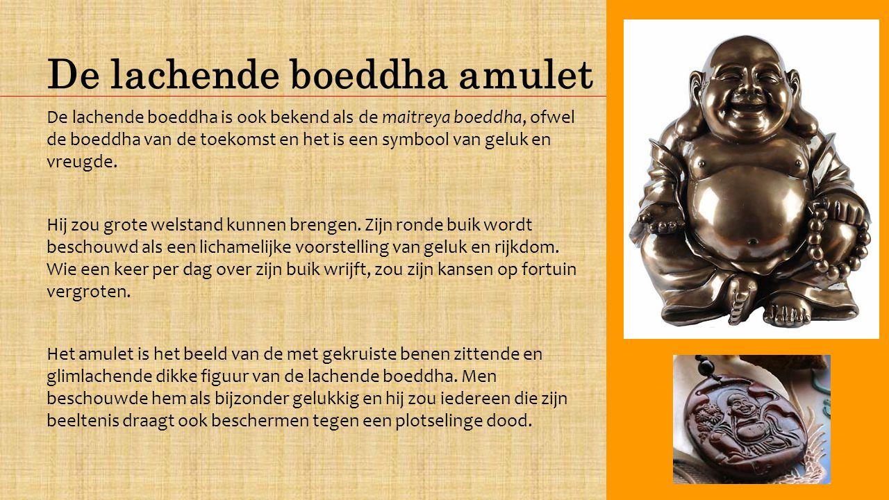 De lachende boeddha amulet