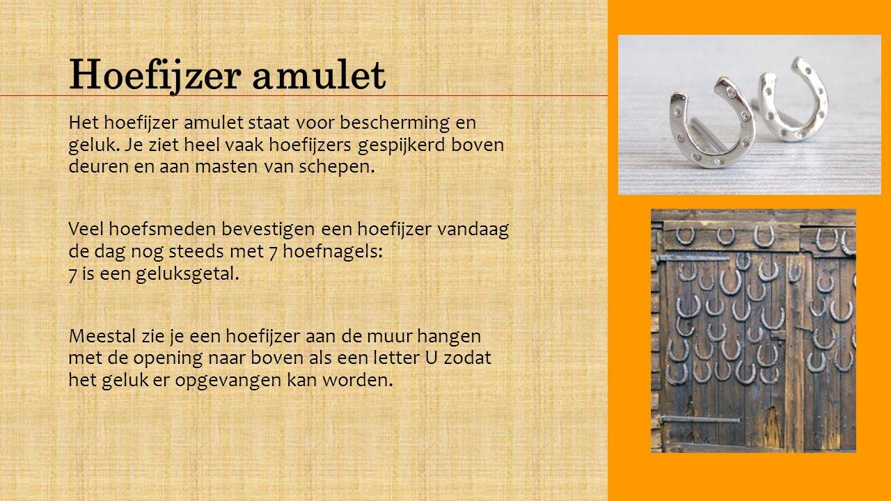 Hoefijzer amulet
