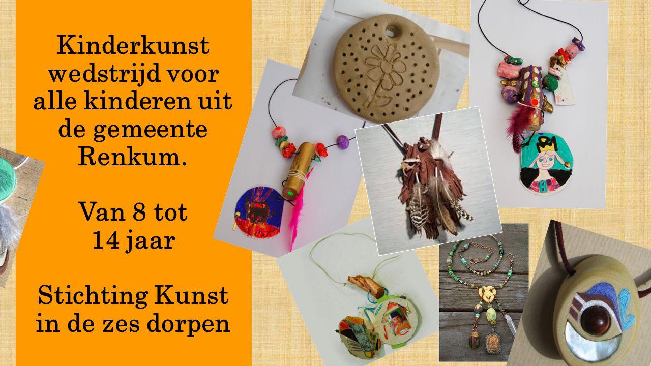Kinderkunst wedstrijd voor alle kinderen uit de gemeente Renkum
