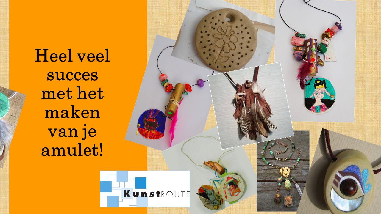 Heel veel succes met het maken van je amulet!