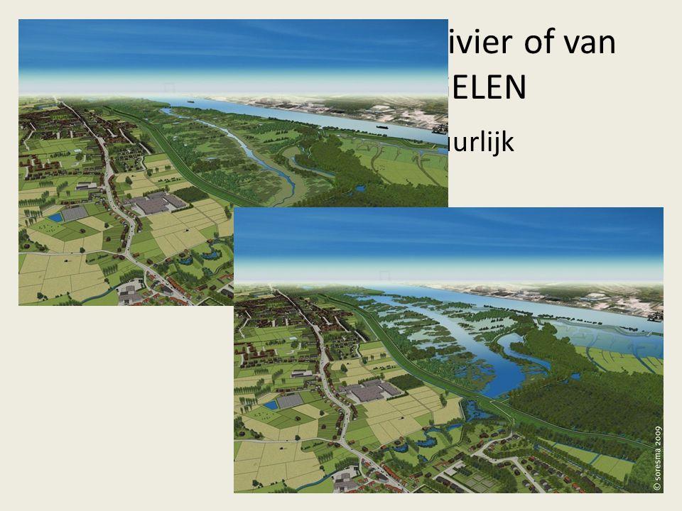 2. Een probleem van de rivier of van de riool MAATREGELEN