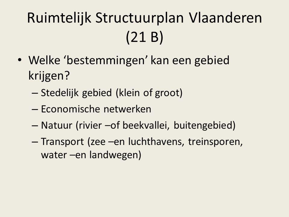 Ruimtelijk Structuurplan Vlaanderen (21 B)