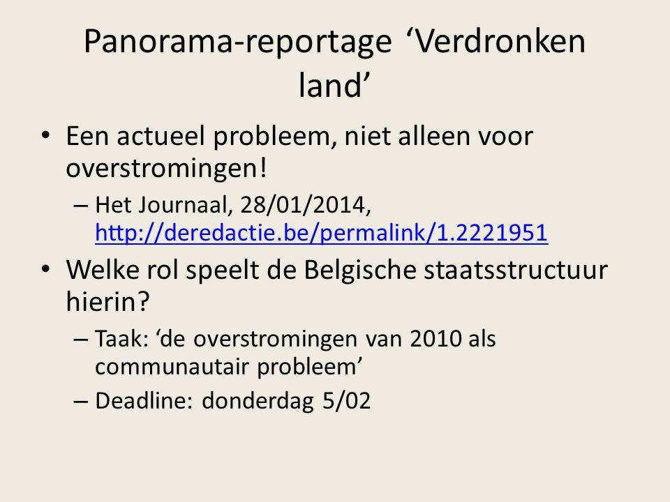 Panorama-reportage 'Verdronken land'