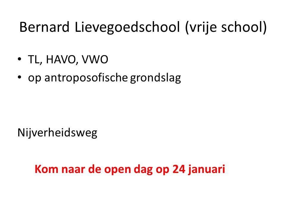 Bernard Lievegoedschool (vrije school)
