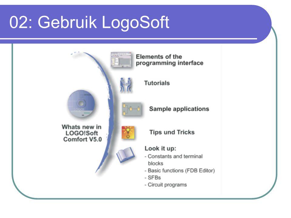 02: Gebruik LogoSoft