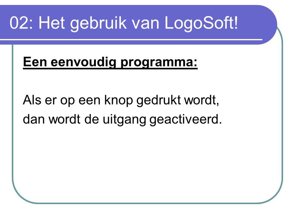 02: Het gebruik van LogoSoft!