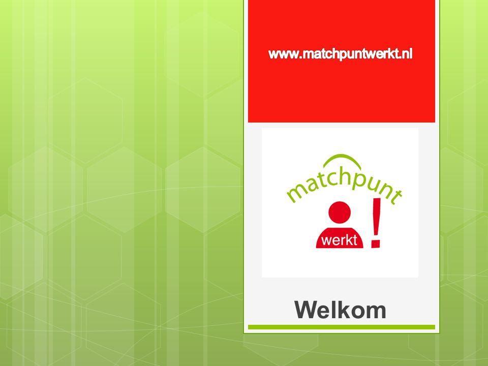 www.matchpuntwerkt.nl Welkom