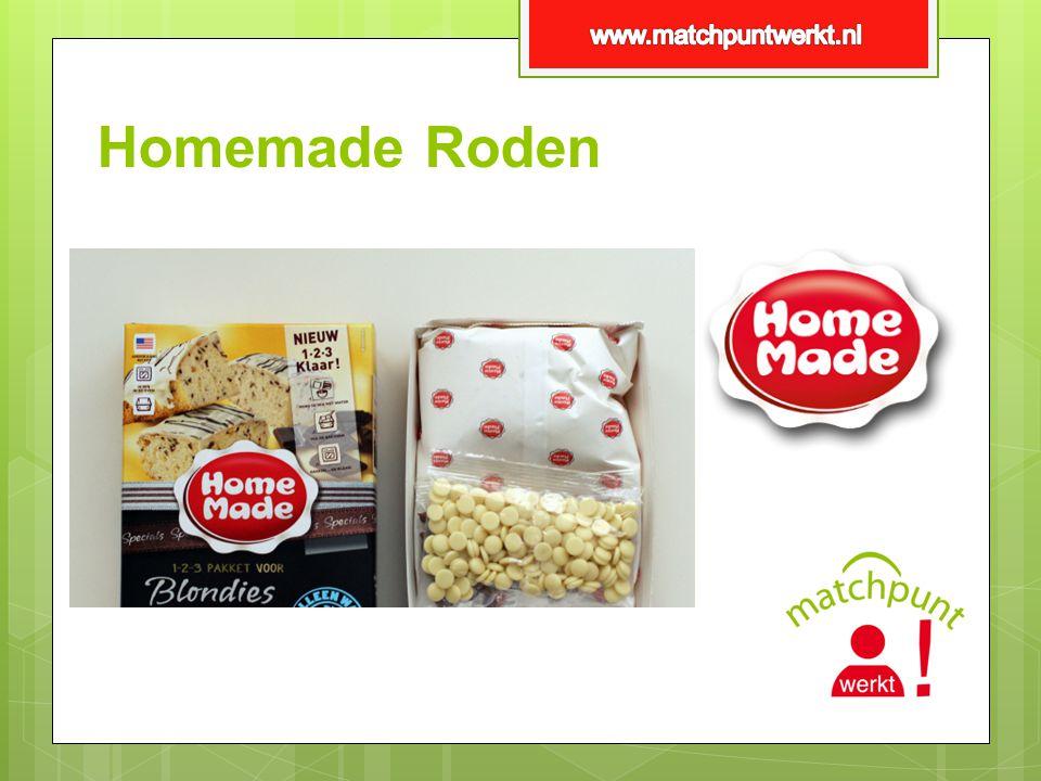 www.matchpuntwerkt.nl Homemade Roden
