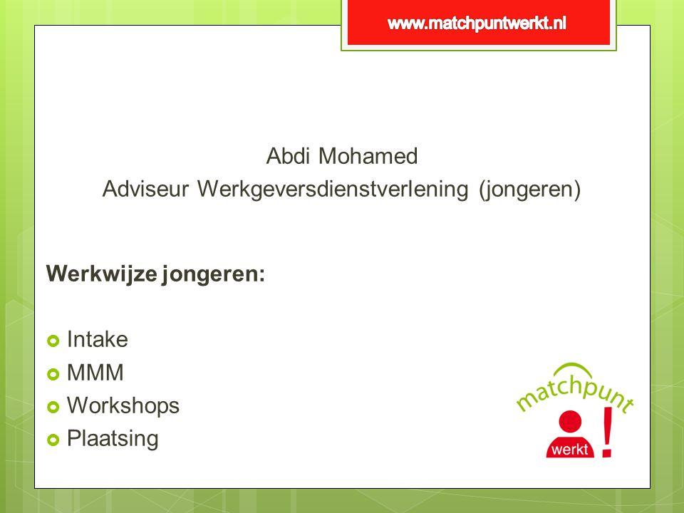Adviseur Werkgeversdienstverlening (jongeren)