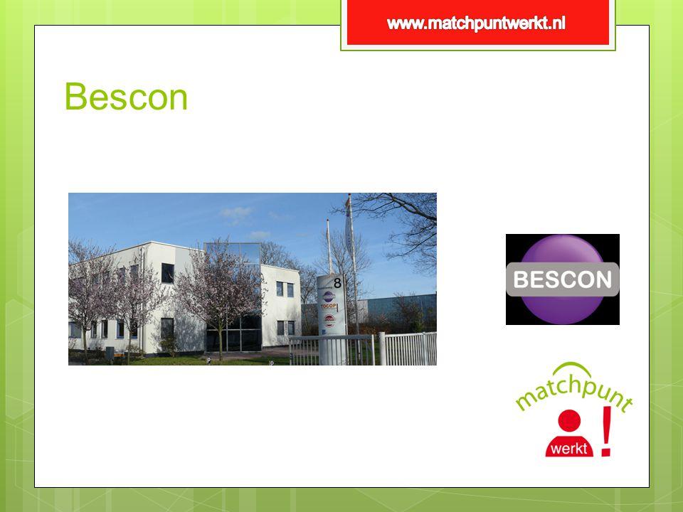 www.matchpuntwerkt.nl Bescon