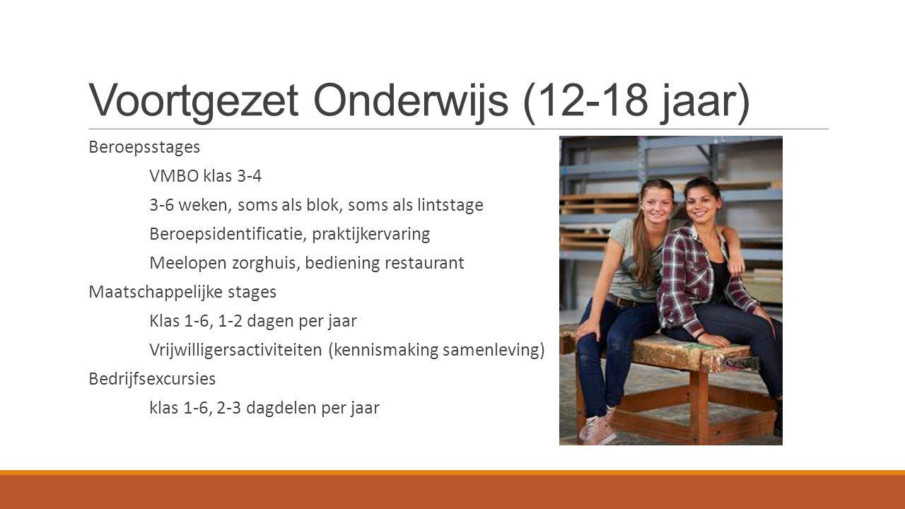 Voortgezet Onderwijs (12-18 jaar)