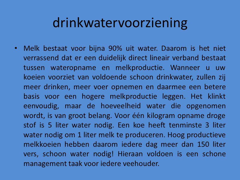 drinkwatervoorziening
