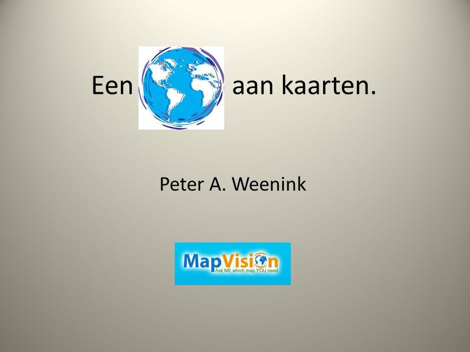 Een aan kaarten. Peter A. Weenink