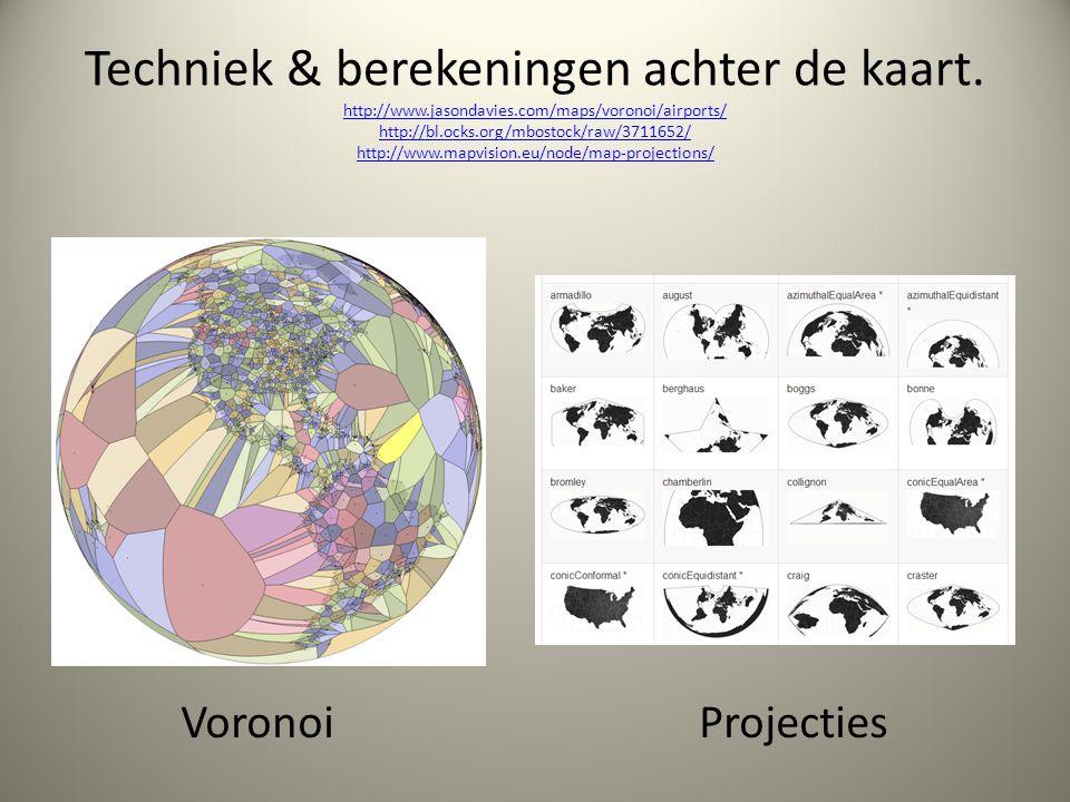 Techniek & berekeningen achter de kaart. http://www. jasondavies
