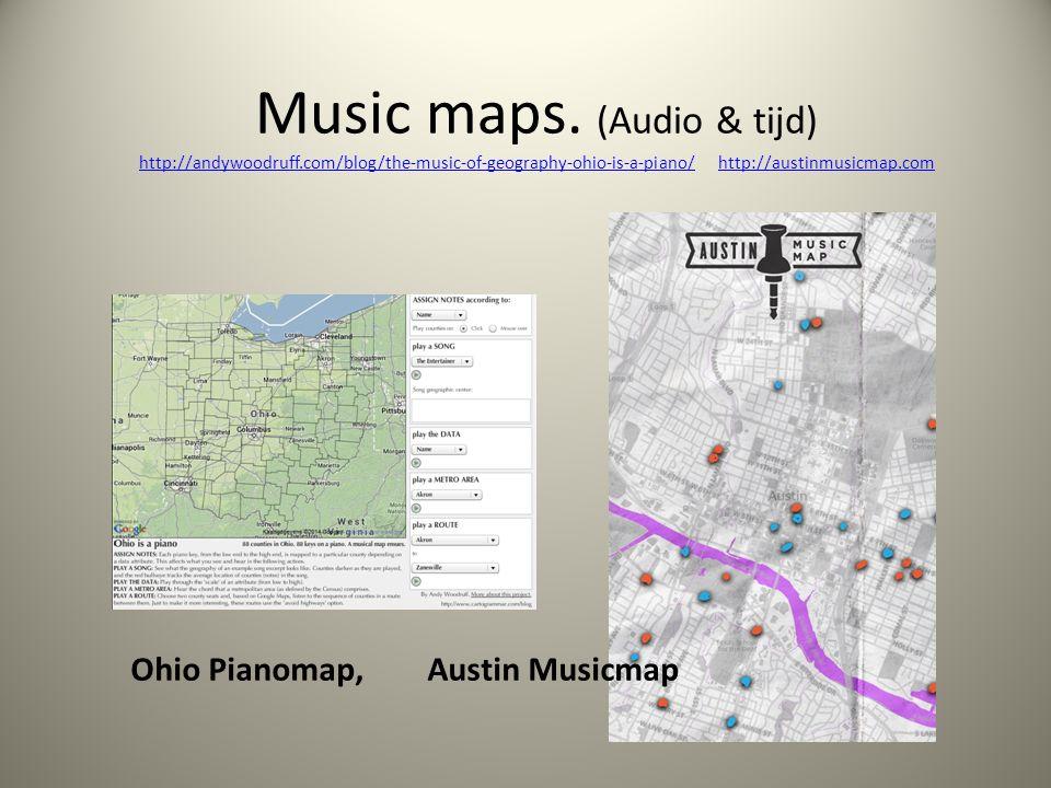 Ohio Pianomap, Austin Musicmap