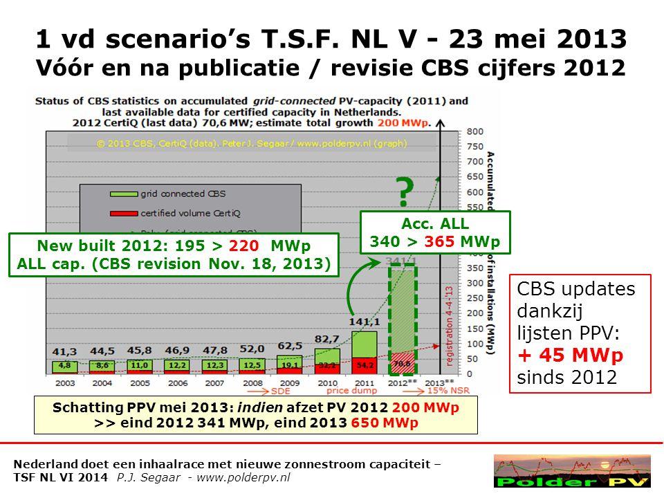 1 vd scenario's T.S.F. NL V - 23 mei 2013