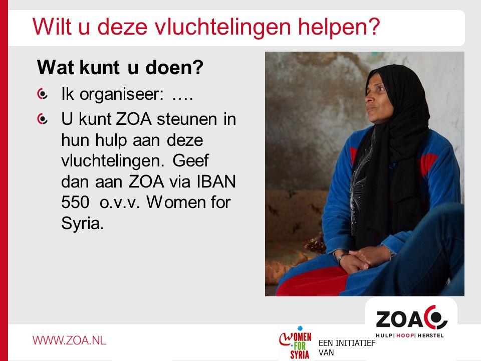 Wilt u deze vluchtelingen helpen
