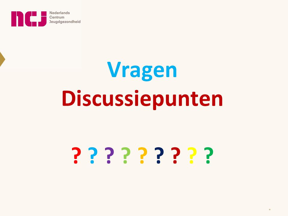 Vragen Discussiepunten