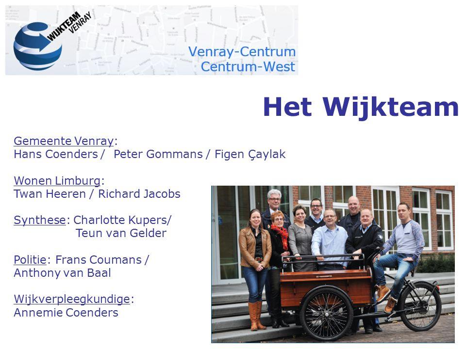 Het Wijkteam Gemeente Venray: