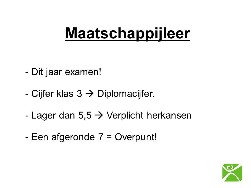 Maatschappijleer - Dit jaar examen! - Cijfer klas 3  Diplomacijfer.