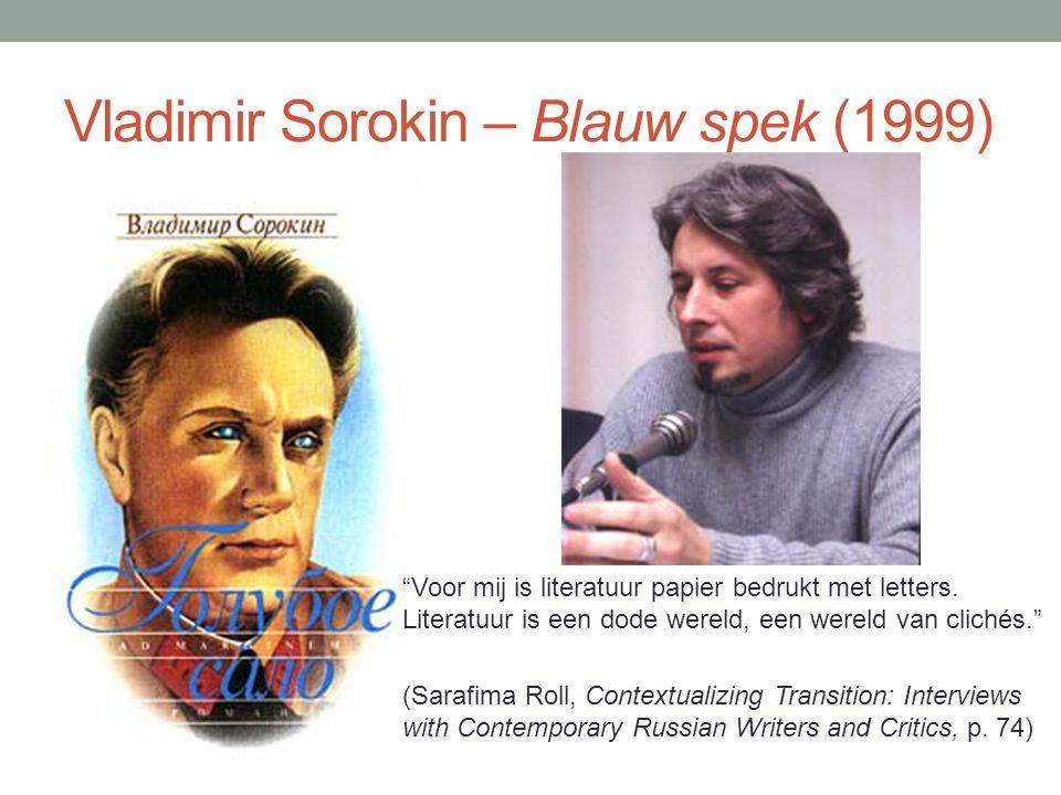 Vladimir Sorokin – Blauw spek (1999)