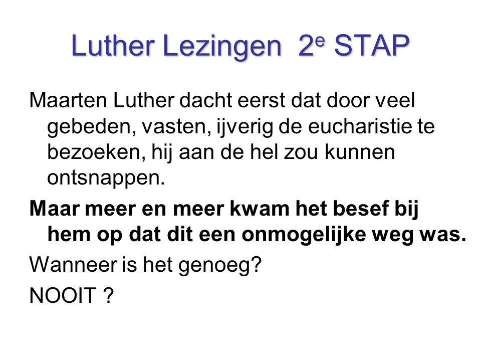 Luther Lezingen 2e STAP