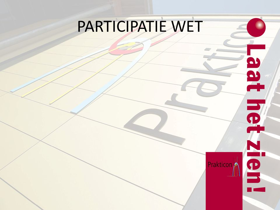 PARTICIPATIE WET