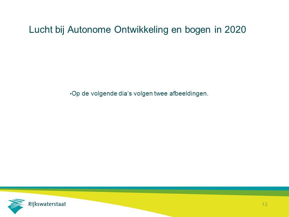 Lucht bij Autonome Ontwikkeling en bogen in 2020