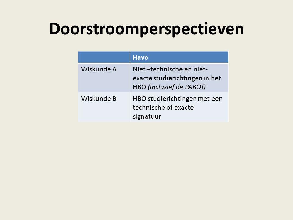 Doorstroomperspectieven