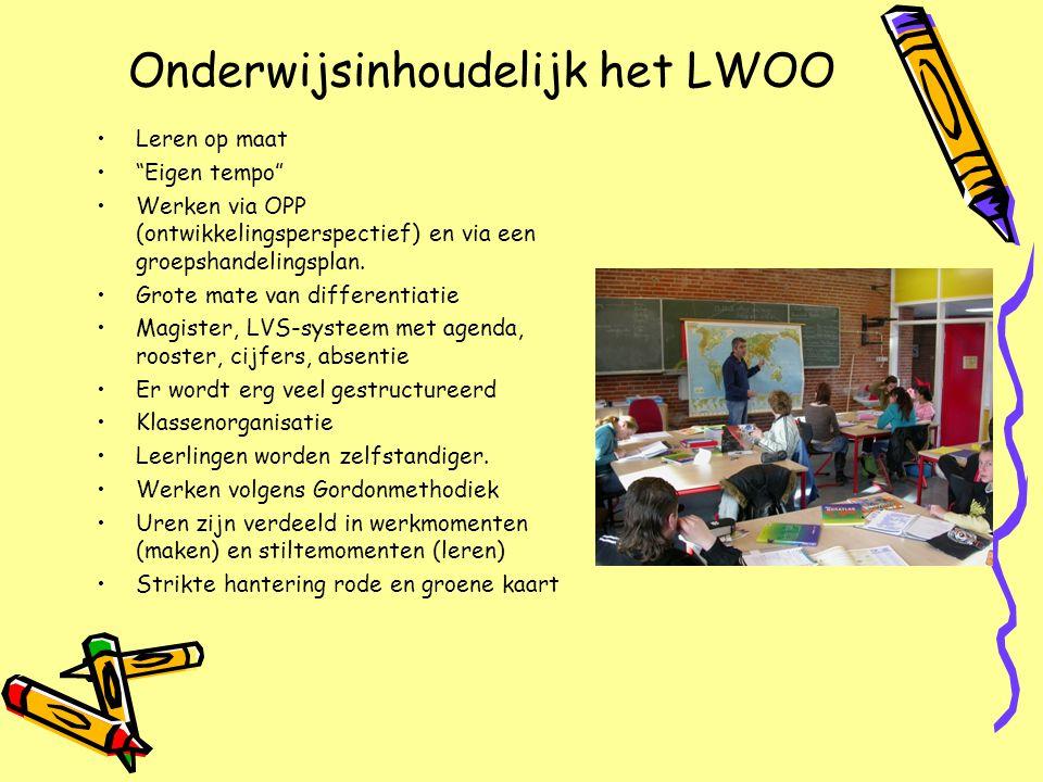 Onderwijsinhoudelijk het LWOO