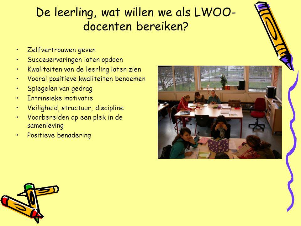 De leerling, wat willen we als LWOO-docenten bereiken