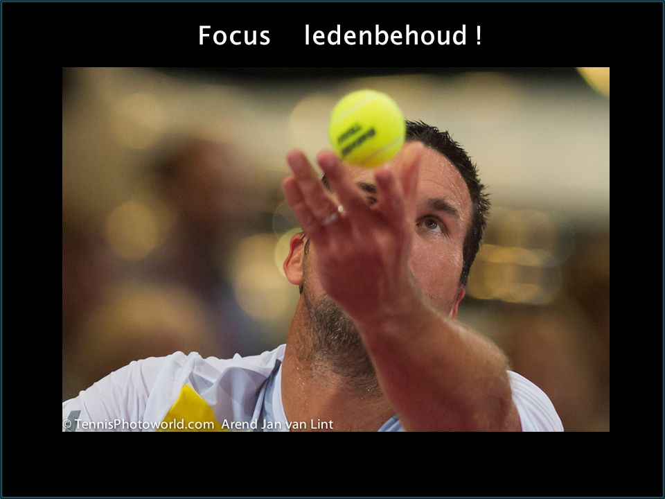 Focus ledenbehoud !