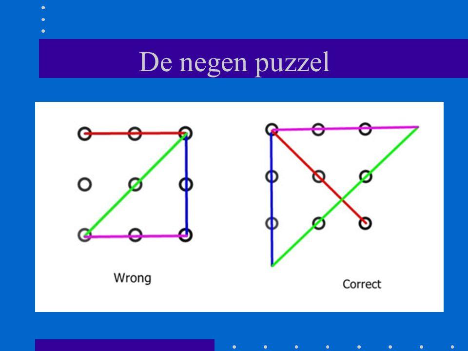 De negen puzzel