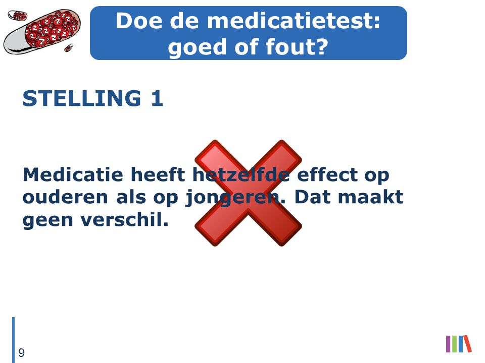 Doe de medicatietest: goed of fout