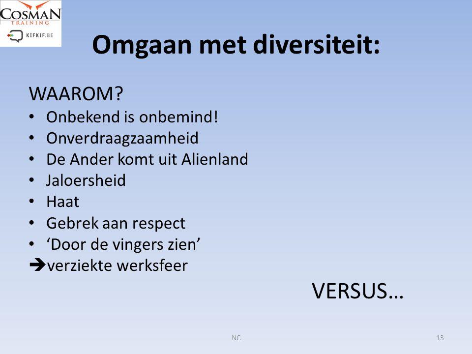 Omgaan met diversiteit: