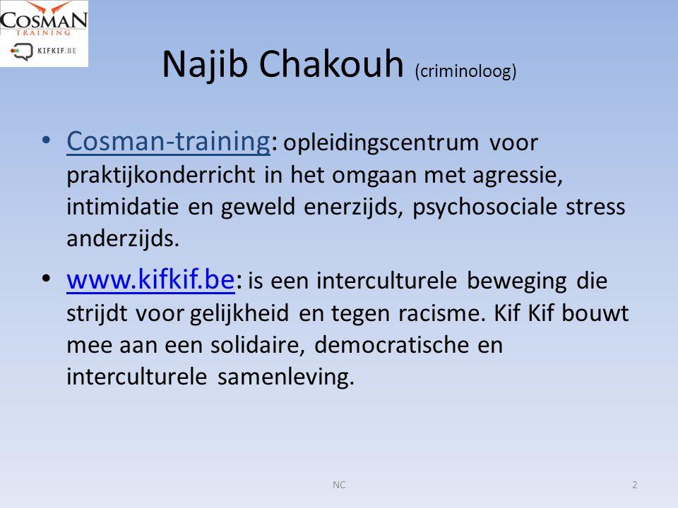 Najib Chakouh (criminoloog)