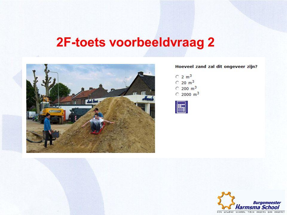 2F-toets voorbeeldvraag 2