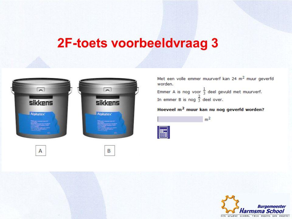 2F-toets voorbeeldvraag 3