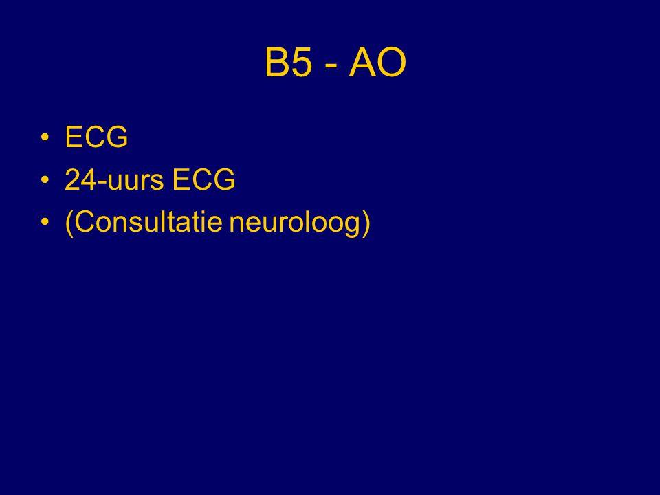 B5 - AO ECG 24-uurs ECG (Consultatie neuroloog)
