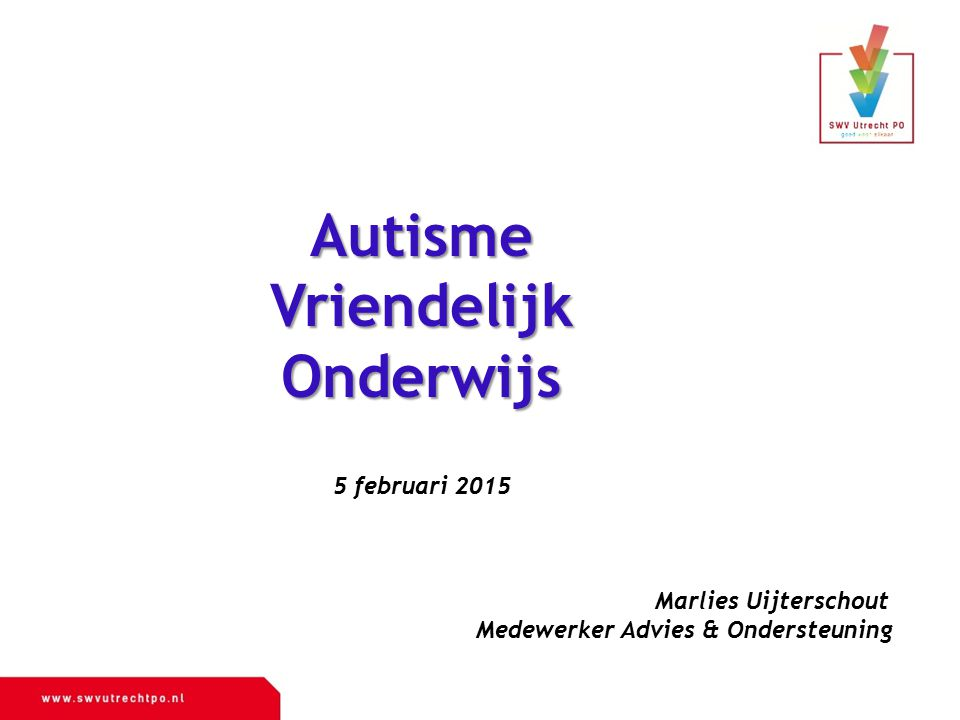 Autisme Vriendelijk Onderwijs