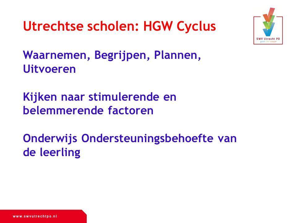 Utrechtse scholen: HGW Cyclus