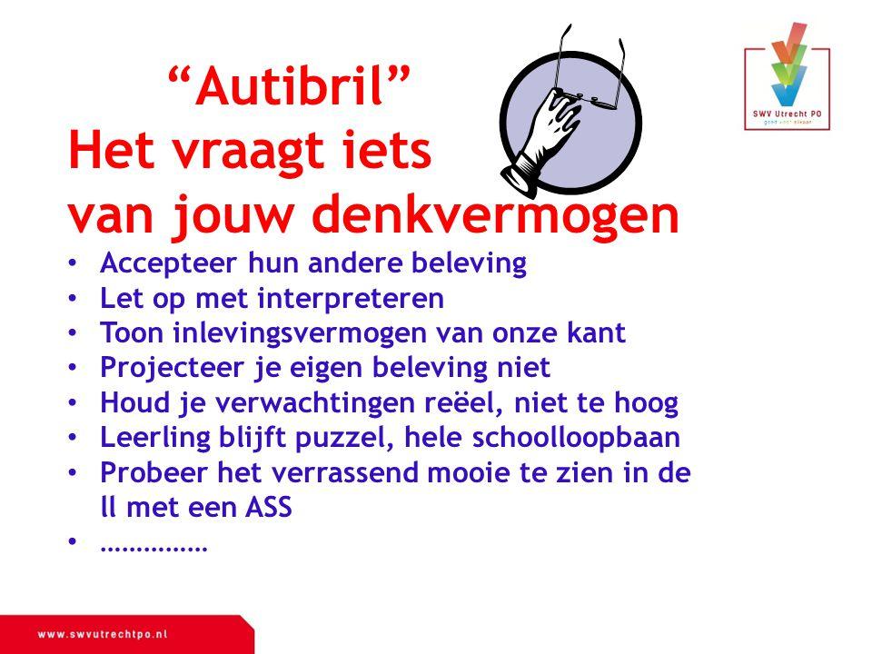 Autibril Het vraagt iets van jouw denkvermogen
