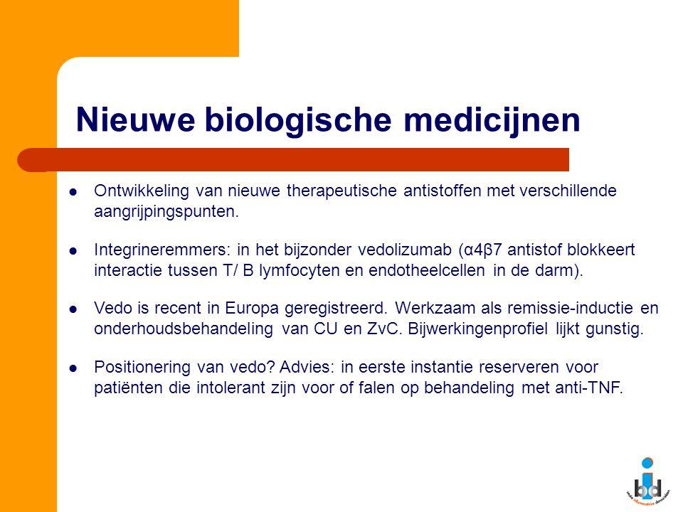 Nieuwe biologische medicijnen