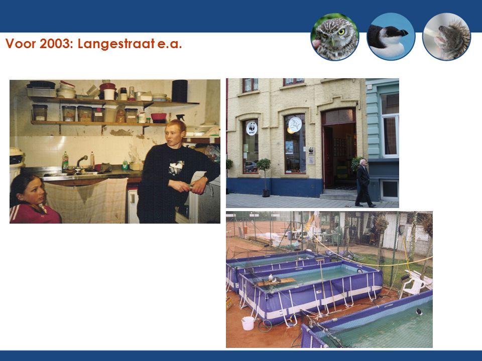 Voor 2003: Langestraat e.a.