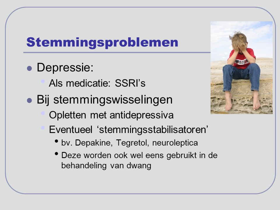 Stemmingsproblemen Depressie: Bij stemmingswisselingen