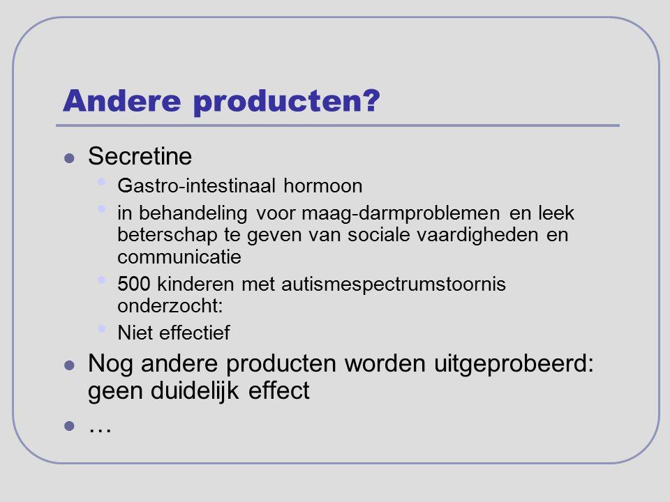 Andere producten Secretine